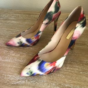 Floral Pointed toe High heel Guess women shoes